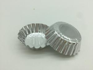 China All Shapes Disposable Aluminum Foil Cups Tray Cake Baking Cups Egg Tart Appied on sale