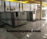 Galvanic line for gravure cylinder printing flexible packaging high technology