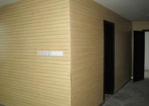 China MDF Wooden Grooved Acoustic Panel Boards , Low Formaldehyde on sale