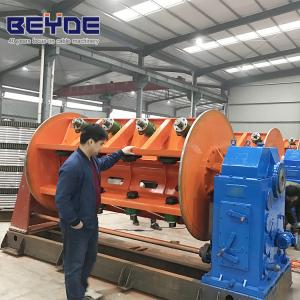 China Wire Stranding Armoured Cable Machine 64 Reel Lower Power Consumption on sale