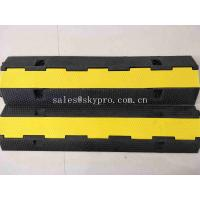 SGS Molded Rubber Products 1 Channel Heavy Duty Rubber Cable Tray Cable Protector