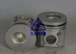 China Mitsubishi Excavator Engine Parts 6D34 / Std Size ME220454 Diesel Engine Piston on sale