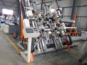 China Automated CNC Vertical PVC Window Four Point Welding Machine,CNC Four Corner Welding Machine on sale