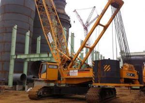 Knuckle Boom Length 81m Hydraulic heavy lifting cranes 150ton XGC150