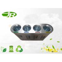 Outdoor Stainless Steel Waste Bin