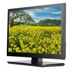 ATSC DVB T Digital LED contre-jour noir/futé 2 Tunner de TV de l'hôtel LED TV