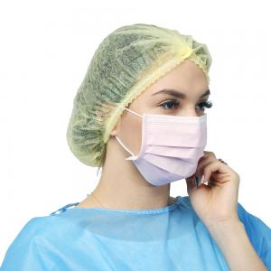 China Surgical Disposable Face Mask Medical Mouth Mask With Elastic Earloop on sale