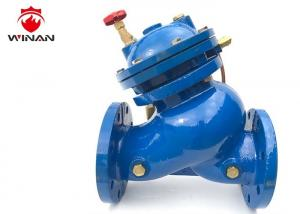 China High Rise Building Install Pump Control Valve Flange Connection 300PSI Pressure on sale
