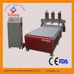 máquina de madera TIE-1325-3 del router del CNC de las Multi-cabezas