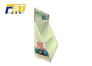 China Triangle Cardboard Display Boxes Easily Assembled Customized Graphics Design on sale