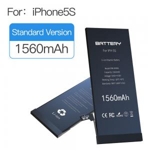 China 3.82v-4.35v 1560mAh Apple Iphone 5s Battery 100% New Replacement Zero Cycle on sale
