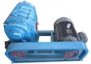 China Water treatment Tri-lobe Roots Blower 1150rpm to 1800rpm / rotary lobe blower on sale