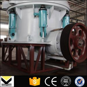 China Quarry rock crushing machines high efficiency hydralic cone crusher for sale on sale