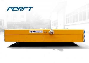 China 10 Ton Automated Guided Vehicles Transfer Trolley For Heavy Industrial Transport on sale