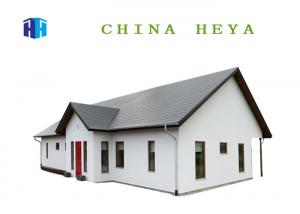 China 114 Sqm Modular Built Homes , Contemporary Kit Homes 3 Bedrooms Layout Design on sale