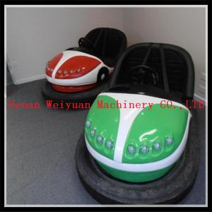 China fiberglass amusement bumper car price 2016 new year promotion electric bumper cars colorful on sale