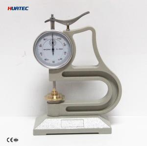 China Rubber 0.01mm Ultrasonic Thickness Gauge for the vulcanized rubber and plastic products on sale