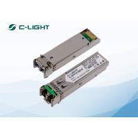 Small SFP Optical Transceiver RoHS Link Equipment In Telecom Data Communications