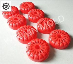 China Cold Runner Pre - Hardened Multi Cavity Injection Molding For Plastic Baby Toy Car Wheel on sale