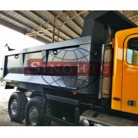 ISO9001 Approval Alloy Tipper Body , Custom Steel Plate Thickness Truck Tipper Body