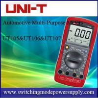 UT105-UT106-UT107 Automotive Multi-Purpose Meters