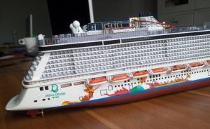 Genting Dream Cruise Ship Toy Cruise Ship Model Fashion Design - Toy cruise ship