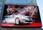 Outdoor full color P10 large wall mounted advertising outdoor led screen display