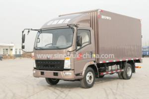 China 4x2 Euroii Howo 7000kg Refrigerated Box Truck With Yunnei Engine And 6 Triangle Tire on sale