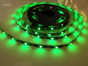 China Durable Digital LED Flexible Strip Lights APA107 RGB Pixel Silicon / PVC Material on sale