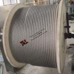 7x37 Stainless Steel Rope 14mm AISI ASTM 304 316