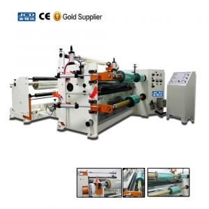 China JC-S02 High precision laminating slitting machine for film / paper / fabric jumbo roll on sale