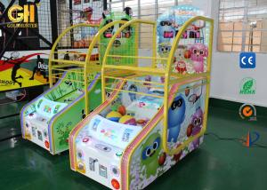 China 12 Months Warranty Coin Operated Game Machine For 2 Player Basketball Arcade Game on sale