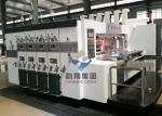 High Speed Corrugated Flexo Printing Machine / Printing Slotting Die Cutting Machine