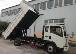China City Use Flexible Light Truck Heavy Duty Dump Truck 4×2 Construction Use with Tyre 7.50R16 on sale