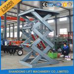 2T 3M Hydraulic Warehouse Elevator Lift For Cargo Lifting with CE