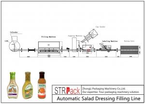 China 6.5kw Power Automatic Liquid Filling Line 20 - 50 Bottles / Min Capacity on sale