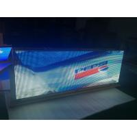 China Video Function led car sign / Outdoor Usage 5mm digital taxi advertising on sale