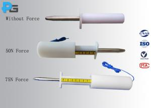 China IEC61032 Rigid Finger Test Probe 11 customized with 50N or 75N Force on sale
