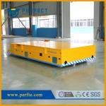 Material industrial que da la carretilla sin rieles de la transferencia con capacidad de carga 35t