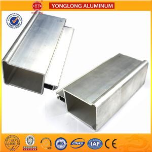 China Low Pollution Machined Aluminium Tube Profiles , Standard Bendable Aluminium Spacer Bar on sale