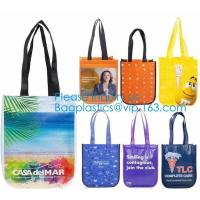 China Non Woven Bag Reusable Nonwoven T-Shirt Bag Metallic Laminated Non Woven Bag Of Good Quality, Eco Firendly Bagease on sale