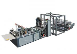 China XY-400A Automatic Non Woven Fabric Bag Making Machine For Loop Handle Bag 10-110 Pcs / Min on sale
