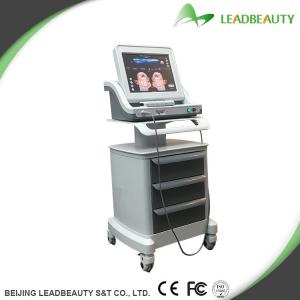 China HIFU for Skin Tone Improvement with Skin Tightening face lifting machine supplier