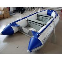 China 12 Feet Fishing Inflatable Yacht Tenders Aluminum Floor Inflatable Boat 5 Person on sale