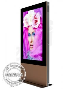 China Outside High Definition Led Freestanding Digital Signage Boards 1920*1080 Resolution supplier