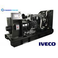 50 / 60HZ Italy IVECO Diesel Generator 200kw Durable Genset Open Type 250kva