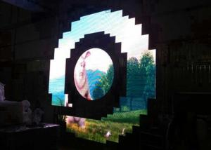 China Night Club p3 Curved LED Screen Bar Special Shape Video Super Clear Vision on sale