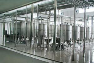 China 1000m2 8T / H Juice Production Line Equipment For Tomato Paste on sale