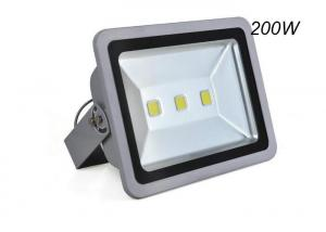 China Workshop Outdoor LED Flood Light 200W Taiwan COB Chip With Aluminum + Glass Material on sale