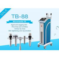 2MHZ Micro - Electrode Tip Winkle Removal Equipment / Skin Tightening Fractional RF Microneedle Machine